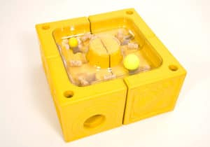Playspace Design Poddely loose part yellow toy