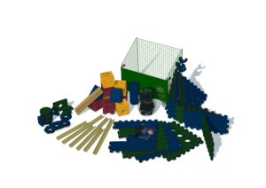 Playspace Design Poddely set
