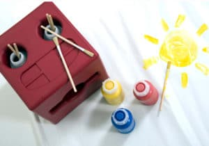 Playspace Design Poddely painting set